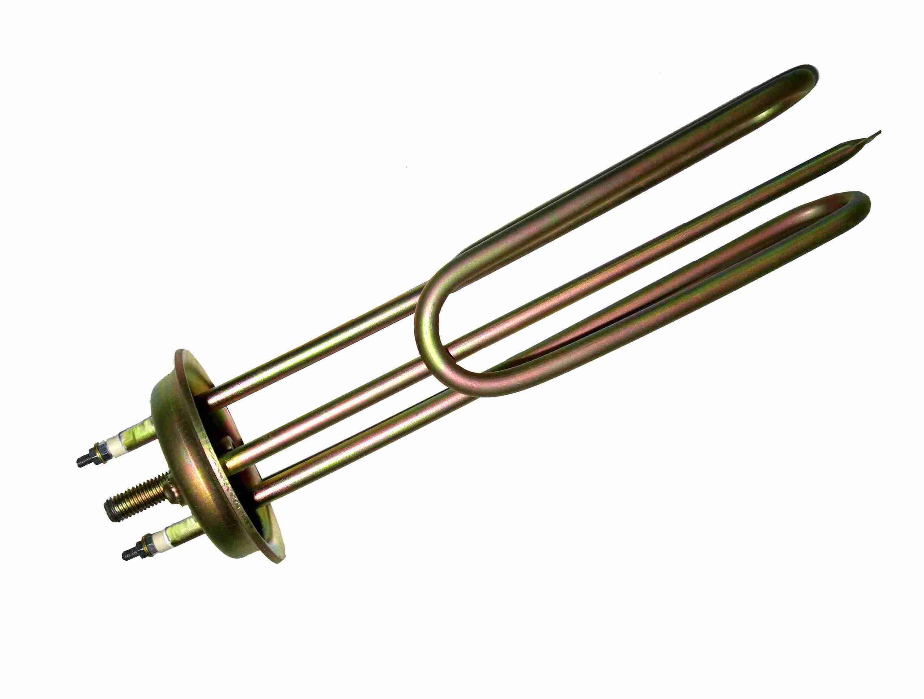 Ηλεκτρική Αντίσταση 230V  σε φλάντζα οβάλ μικρή με 1 βίδα στη μέση  (3 – 4 kW)