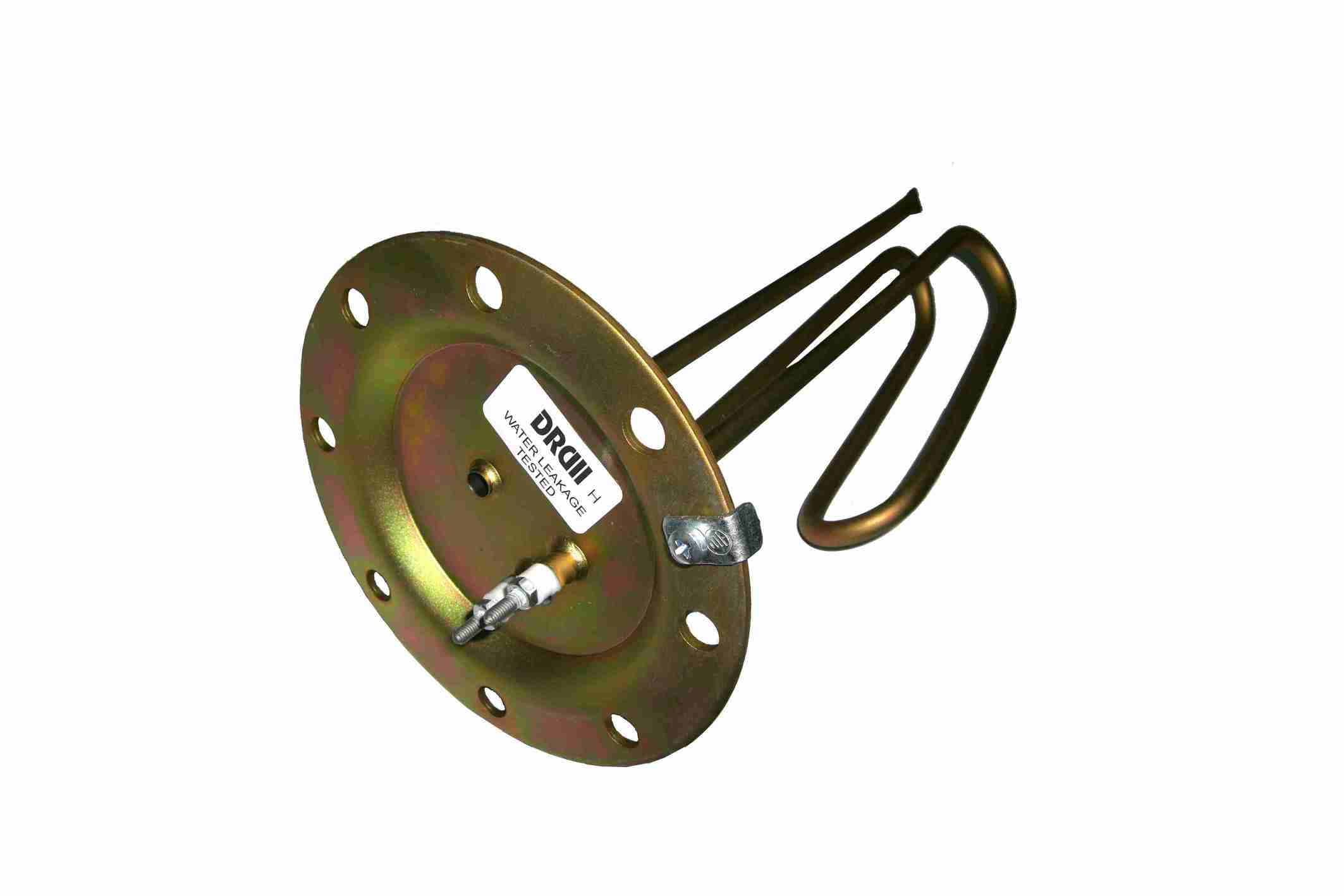 Immersion Heater 230V with flange Φ140 with 8 holes for solar heater (1,5 – 4 kW)