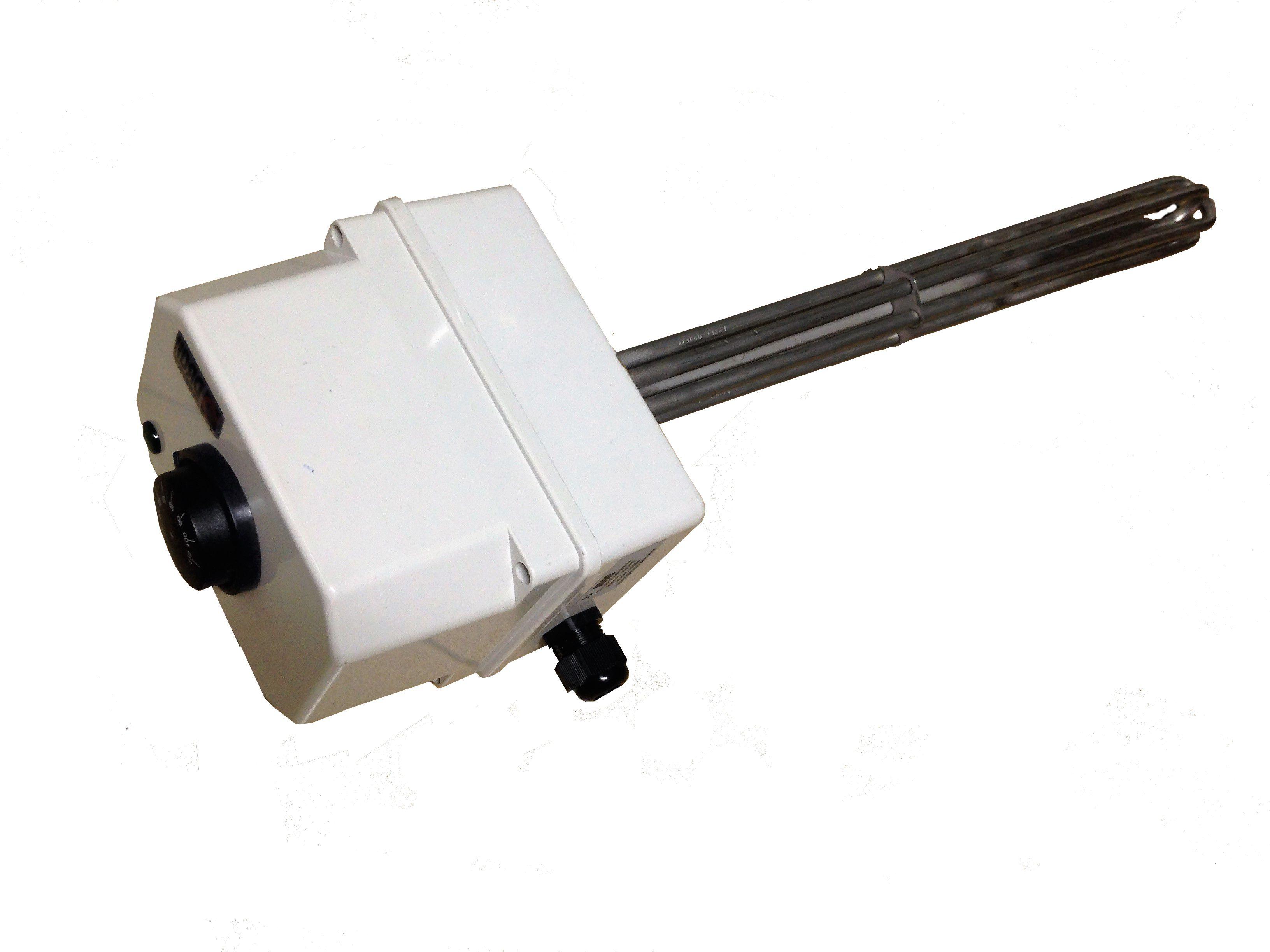 """Ηλεκτρική μονάδα 400 V/3~ G1 ½"""" για boiler ΑΗΘ (6-9 kW)"""