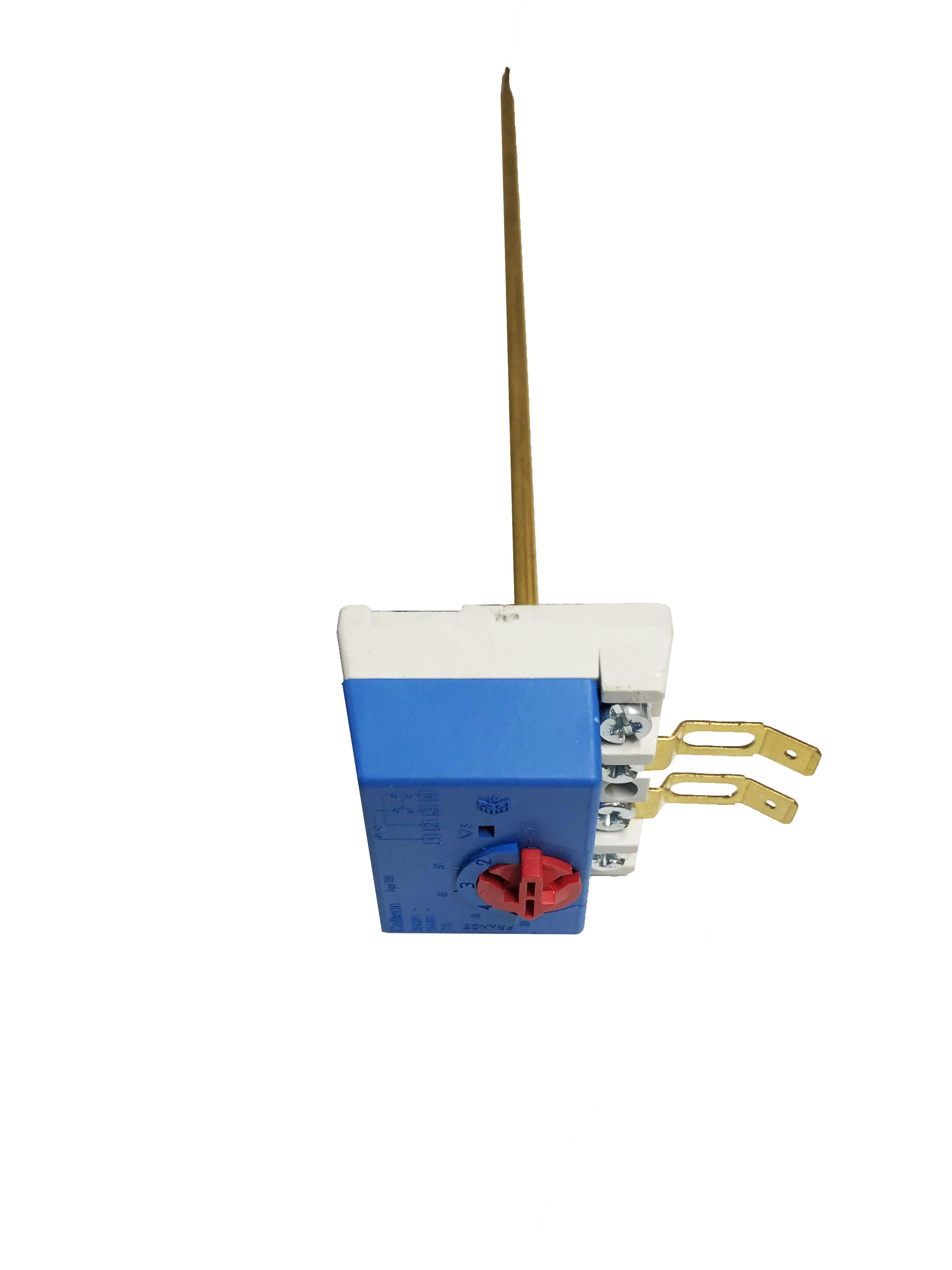20130020 Θερμοστάτης 4 επαφών με θερμικό ασφαλείας 20 Α 230 V